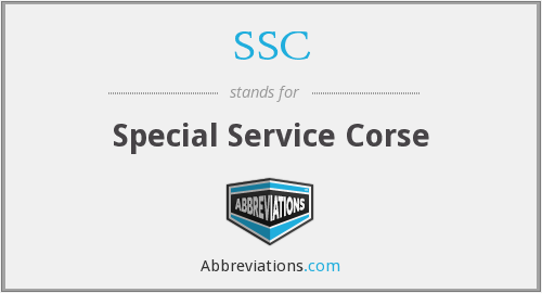 SSC - Special Service Corse