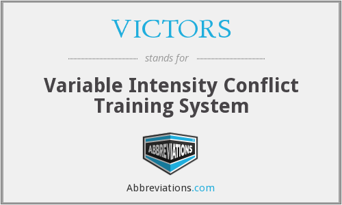 VICTORS - Variable Intensity Conflict Training System