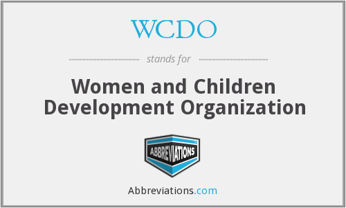What does WCDO stand for?