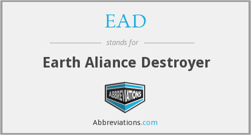EAD - Earth Aliance Destroyer