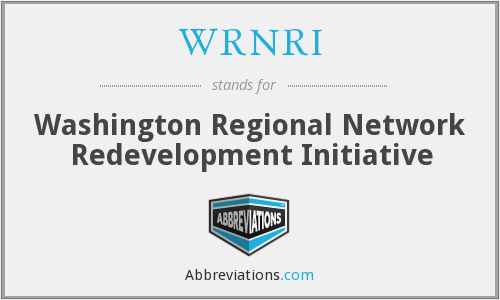 What does WRNRI stand for?