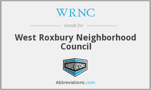 What does WRNC stand for?