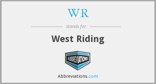 What does riding stand for?