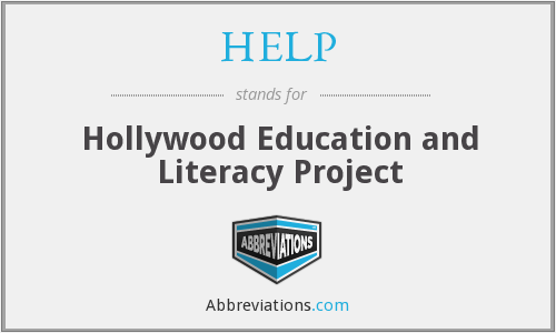 HELP - Hollywood Education and Literacy Project