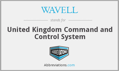 What does WAVELL stand for?