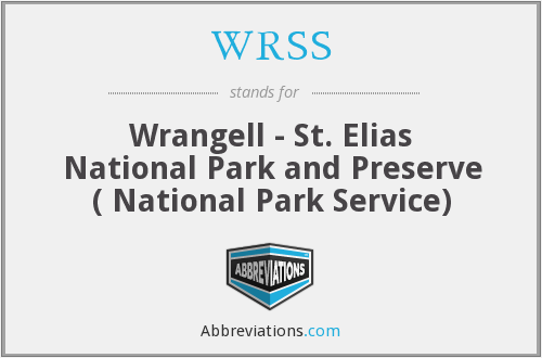 WRSS - Wrangell - St. Elias National Park and Preserve ( National Park Service)