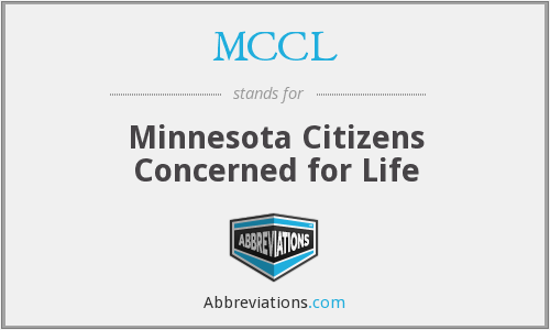 MCCL - Minnesota Citizens Concerned for Life