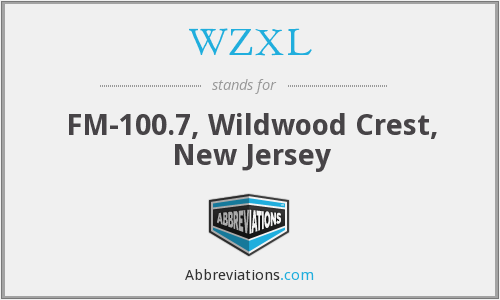 WZXL - FM-100.7, Wildwood Crest, New Jersey