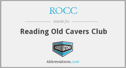 ROCC - Reading Old Cavers Club