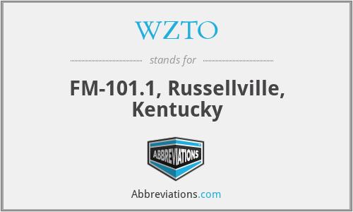 WZTO - FM-101.1, Russellville, Kentucky