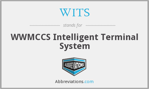 WITS - WWMCCS Intelligent Terminal System