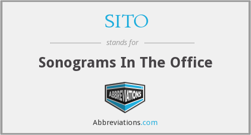 What does SITO stand for?