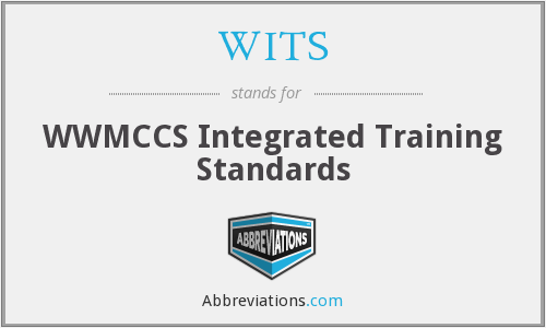 WITS - WWMCCS Integrated Training Standards