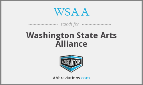 WSAA - Washington State Arts Alliance