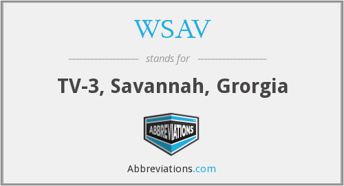 WSAV - TV-3, Savannah, Grorgia