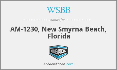 WSBB - AM-1230, New Smyrna Beach, Florida