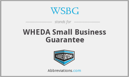 What does WSBG stand for?