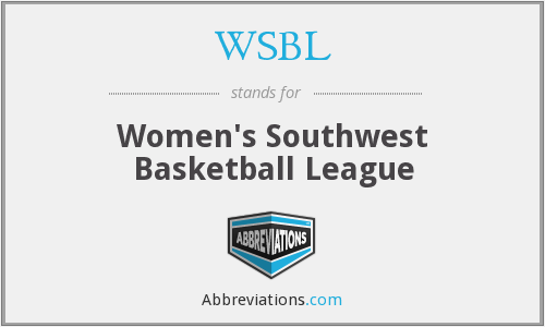 What does WSBL stand for?