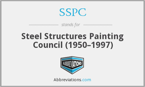 What does SSPC stand for?