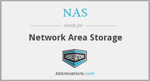 NAS - Network Area Storage