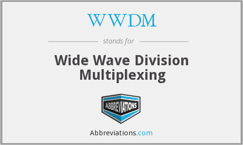 What does WWDM stand for?