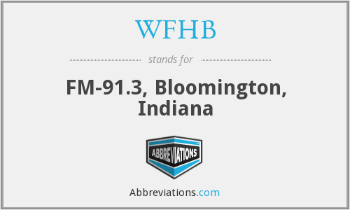 What does WFHB stand for?