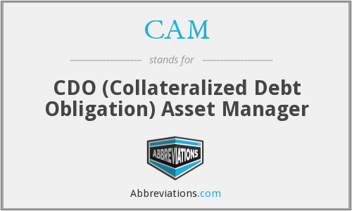 CAM - CDO (Collateralized Debt Obligation) Asset Manager
