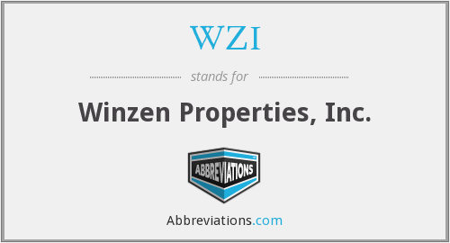 WZI - Winzen Properties, Inc.