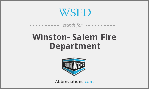 WSFD - Winston- Salem Fire Department