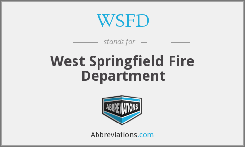 WSFD - West Springfield Fire Department