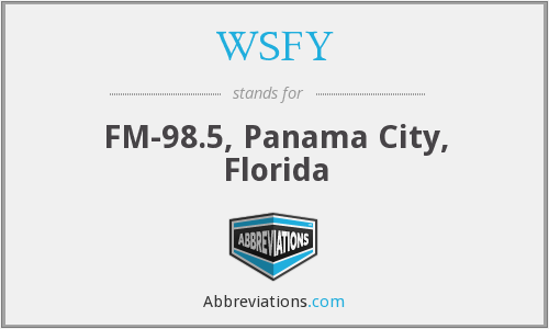 WSFY - FM-98.5, Panama City, Florida