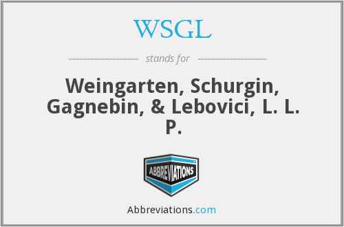 What does WSGL stand for?
