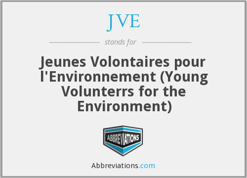 What does JVE stand for?