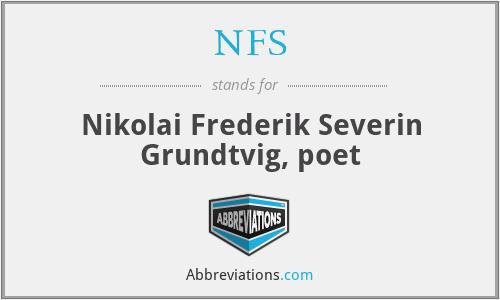 NFS - Nikolai Frederik Severin Grundtvig, poet