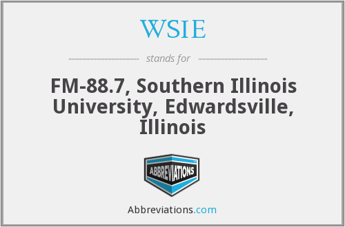 WSIE - FM-88.7, Southern Illinois University, Edwardsville, Illinois