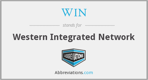 WIN - Western Integrated Network