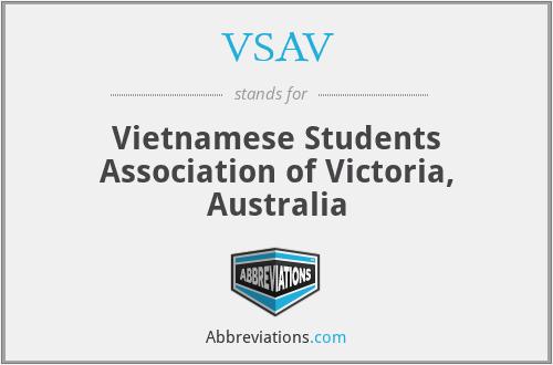 VSAV - Vietnamese Students Association of Victoria, Australia