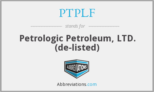 What does PTPLF stand for?