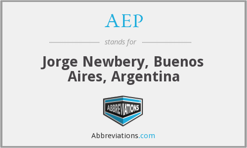 AEP - Jorge Newbery, Buenos Aires, Argentina