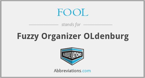 FOOL - Fuzzy Organizer OLdenburg