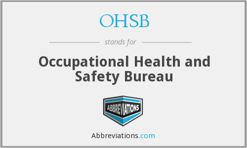 What does OHSB stand for?