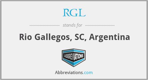 RGL - Rio Gallegos, SC, Argentina