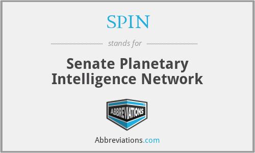 SPIN - Senate Planetary Intelligence Network