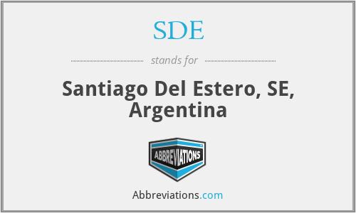 SDE - Santiago Del Estero, SE, Argentina