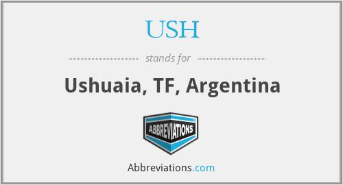 USH - Ushuaia, TF, Argentina