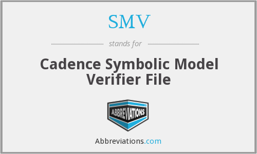 What does SMV stand for?