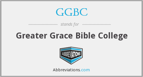 What does GGBC stand for?