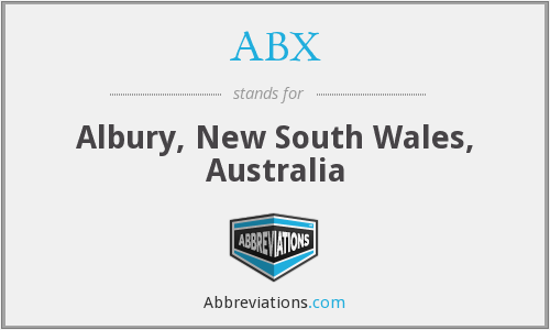 ABX - Albury, New South Wales, Australia