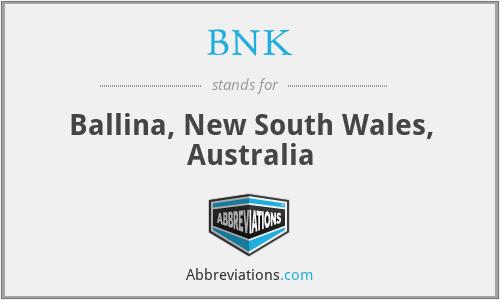 BNK - Ballina, New South Wales, Australia