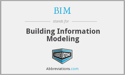 What does BIM stand for?